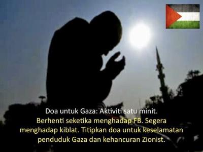 Apa Kabar GAZA hari ini - Doa Untuk Gaza
